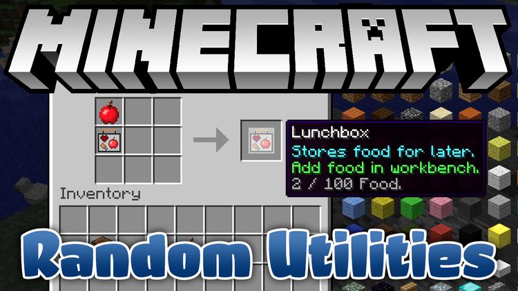 Random Utilities Mod 1