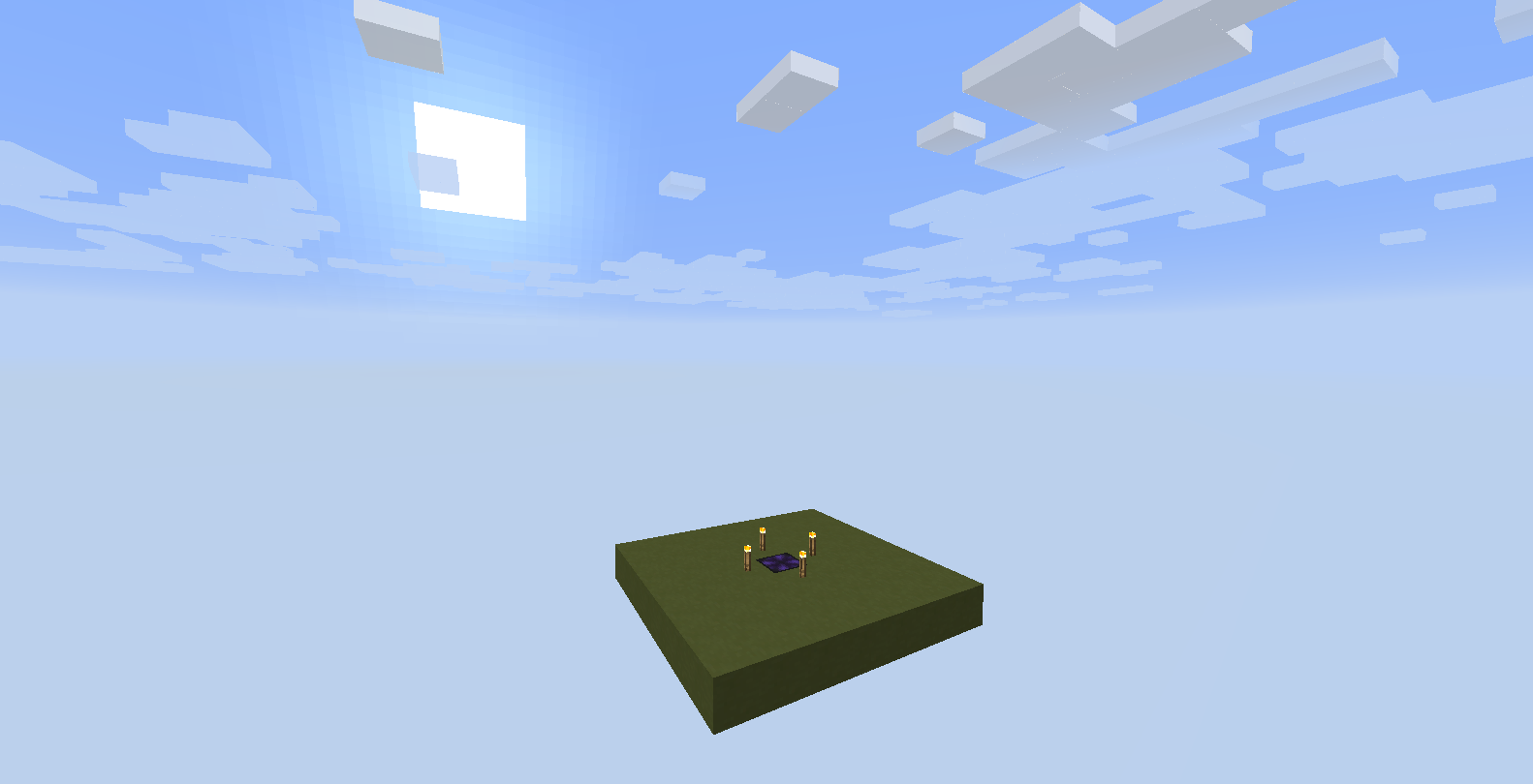 Simple Void World Mod for Minecraft 1.12.1/1.11.2/1.10.2/1 ...