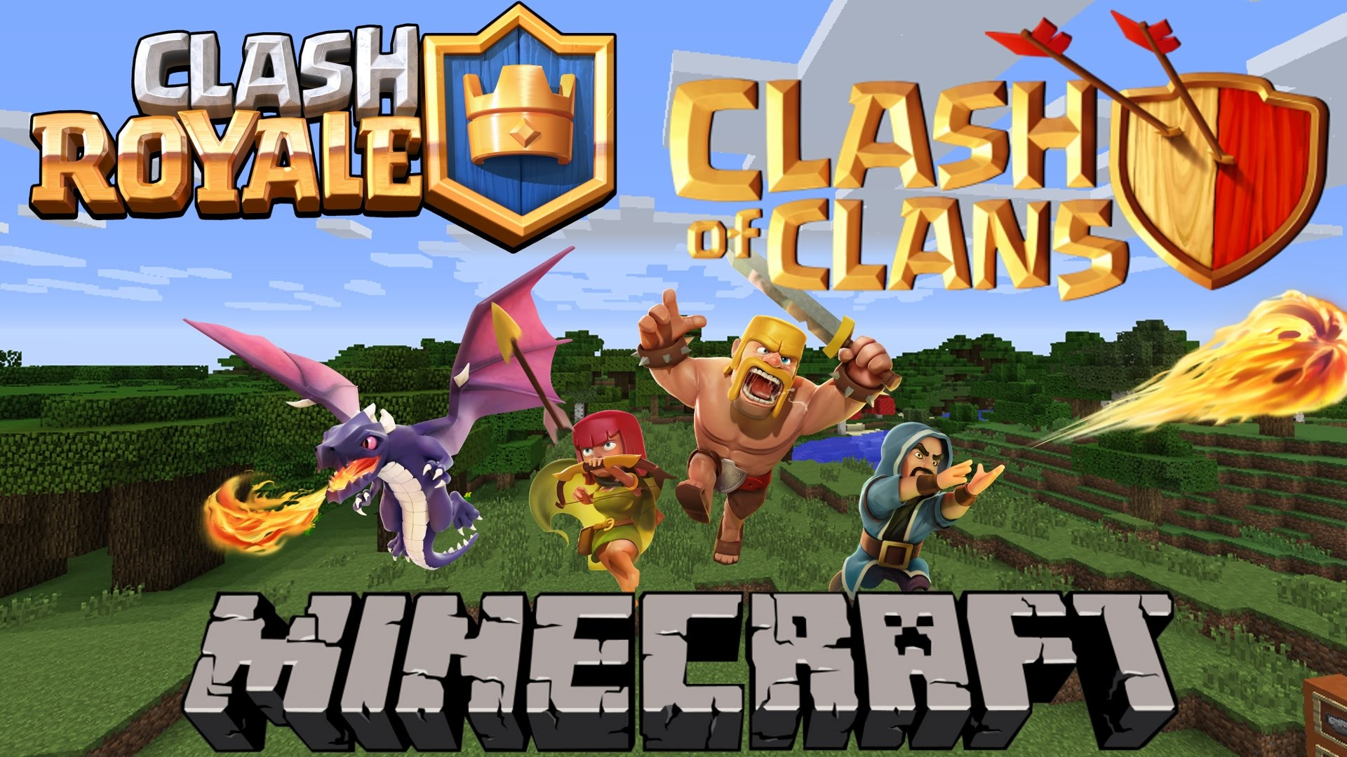 Clash of Mobs Mod 1