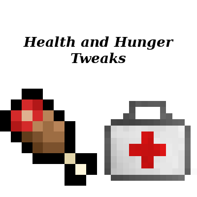 Health and Hunger Tweaks Mod 2