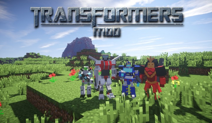 Transformers Mod For Minecraft 1 7 10 1 12 2 Minecraftore