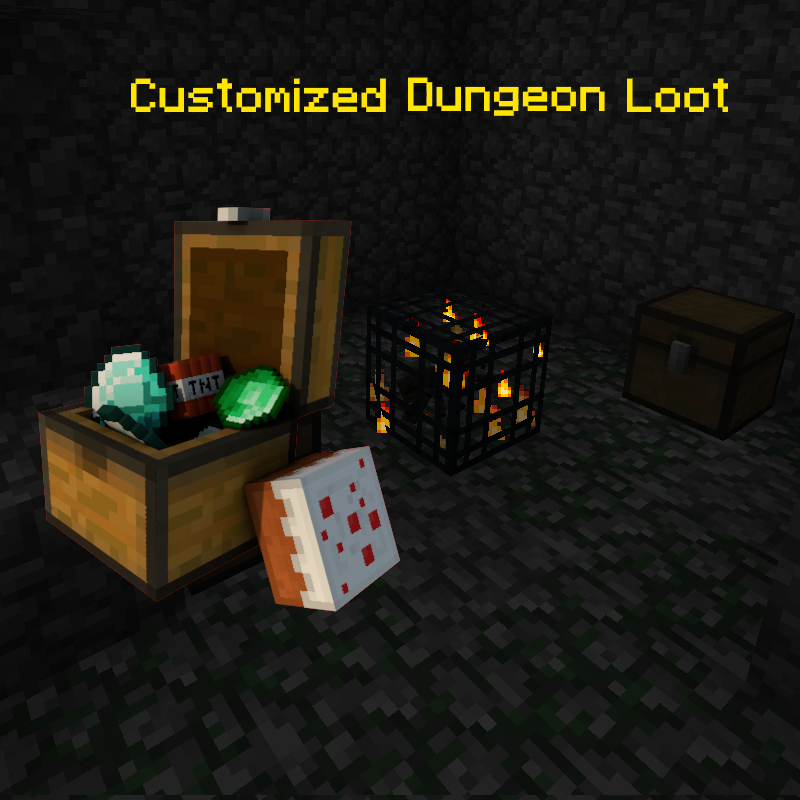 Customized Dungeon Loot Mod 2
