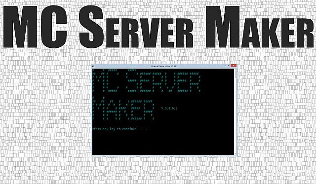 Minecraft Server Maker mod