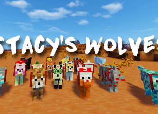Stacy's Wolves Mod 1